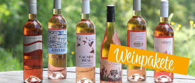 6 Flaschen Rose Wein Paket