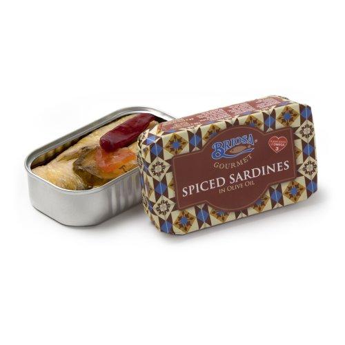 Sardinen pikant in Olivenöl Briosa Gourmet