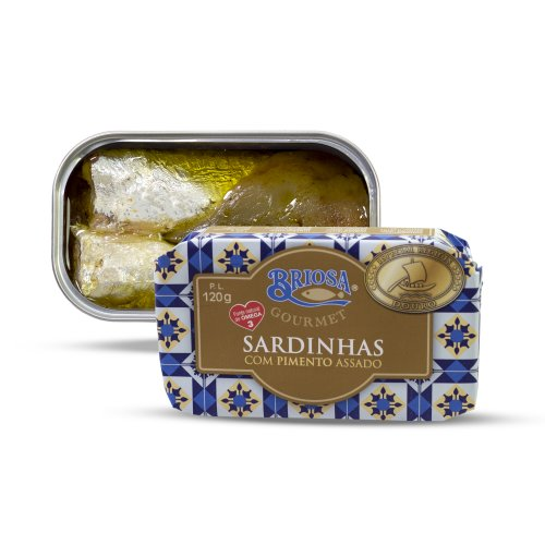 Sardinen mit gerösteter Paprika Briosa Gourmet