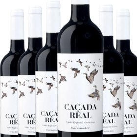 6 Flaschen Angebot Cacada Real Tinto