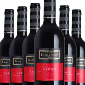 6 Flaschen Angebot Ermelinda Freitas 100% Syrah