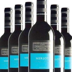 6 Flaschen Angebot Ermelinda Freitas 100% Merlot