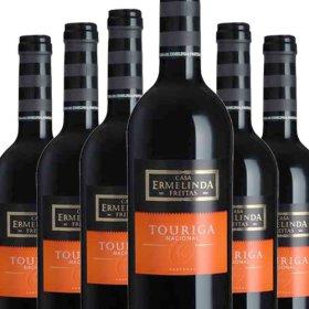 6 Flaschen Angebot Ermelinda Freitas 100% Touriga Nat.