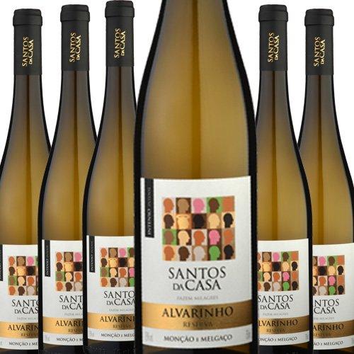 6 Flaschen Angebot Santos da Casa Reserva Alvarinho
