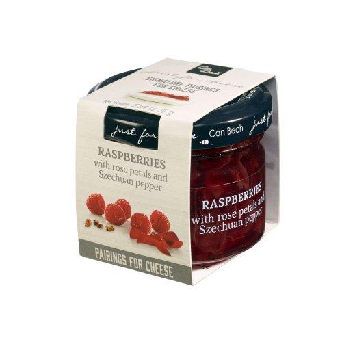 Just for Cheese Himbeere mit Rosenblättern & Szechuan-Pfeffer