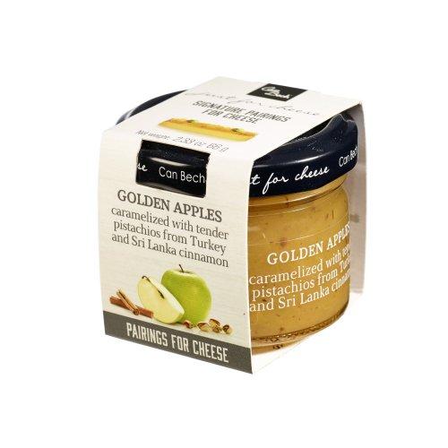 Just for Cheese Karamelisierter Apfel mit Pistazie & Zimt