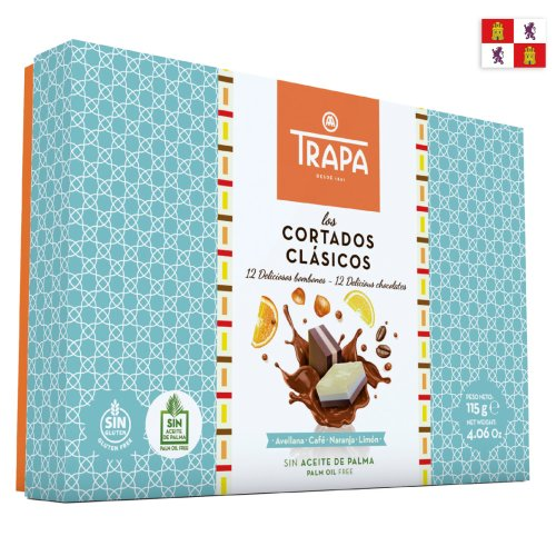 Trapa Cortados Los Clasicos palmölfrei 115g