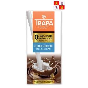 Trapa Milchschokolade (zuckerfrei) 80g