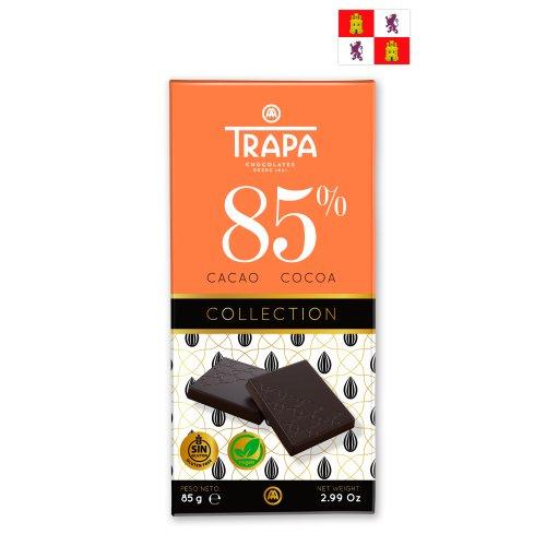 Trapa Collection Dunkle Schokolade 85% (vegan) 85g