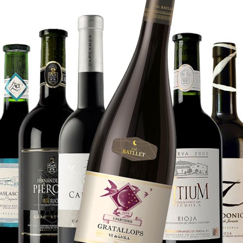 Kraftvolle Rotweine aus Spanien PROBIERPAKET