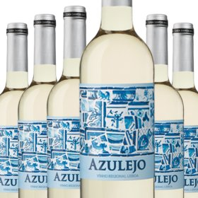 6 Flaschen Angebot Azulejo Branco Leve