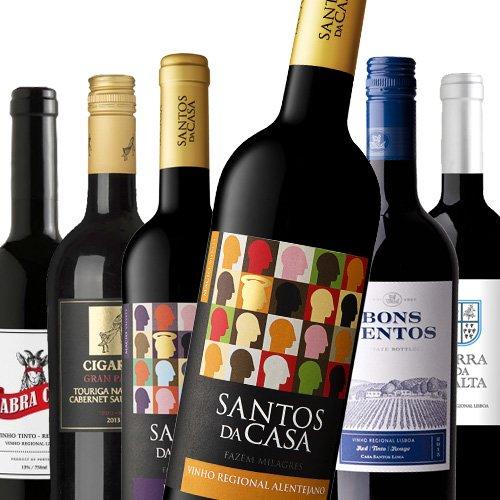 Kräftige Rotweine aus Portugal PROBIERPAKET