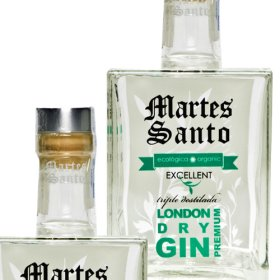 Gin Eco London Dry Tridestilada Martes Santo 0,7l