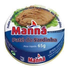 Pate de Sardinha Manna 65g
