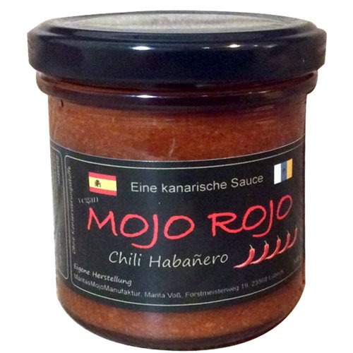 Mojo Chili Habanero 140 g