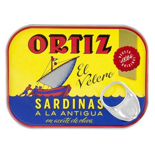 Sardinen in Olivenöl Ortiz