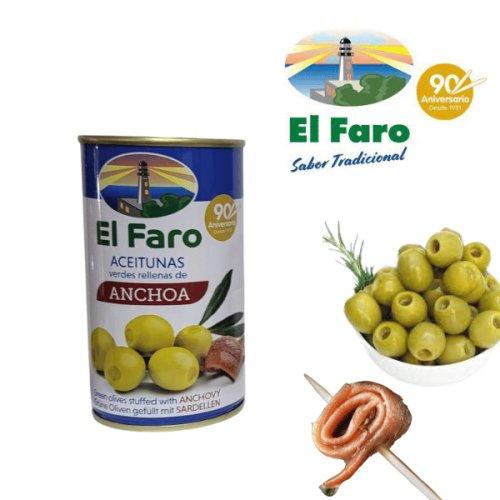 El Faro Oliven mit Anchoa