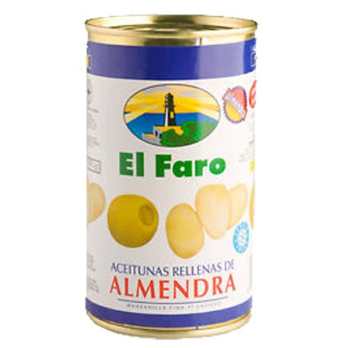 El Faro Oliven mit Mandel