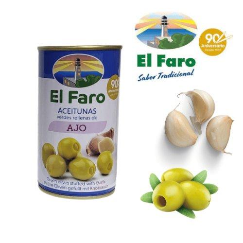 El Faro Oliven mit Knoblauch