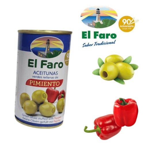 El Faro Oliven mit Paprika