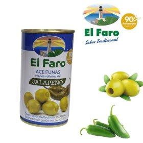 El Faro Oliven mit Jalapeno