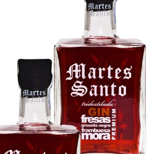 Gin Frutos Rojos Tridestilada Martes Santo 0,7l
