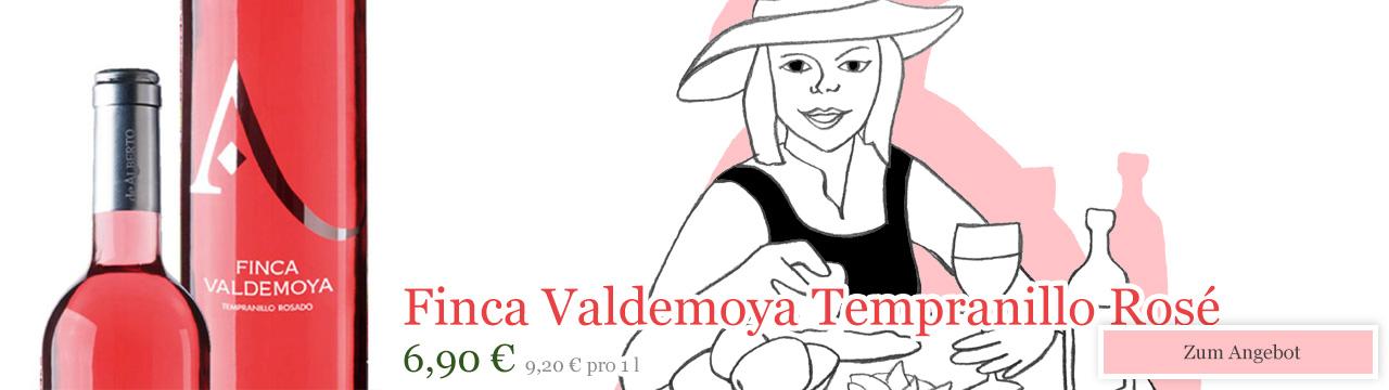 Finca Valdemoya Tempranillo Rosé